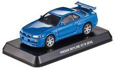 NISSAN SKYLINE GT-R R34 Pull-back Car Diecast Model Cars Kits Official Minicar