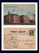 IDAHO BLACKFOOT CENTRAL SCHOOL POSTED 1915 TO MRS FRED PENCE GLADSTONE, ILLINOIS