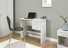 Desk White 2 Hanging Drawer Vanity Dressing Table Computer Workstation Office