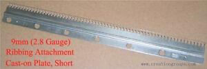 New Cast-on Comb Plate Short for 9mm Brother KR260 KR230 Singer SR150 SR155