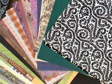 Lot of 150 Sheets 12x12 Scrapbook Paper & Cardstock Crafting Scrapbooking Crafts
