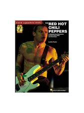 Red Hot Chili Peppers Bass Signature Licks GUITAR SHEET MUSIC BOOK & CD