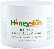 Face and Body Cream Moisturizer - Nourishing Aloe Vera - Manuka Honey 4 Ounce