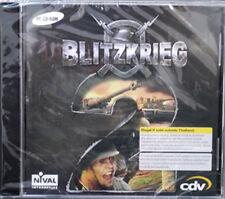 ** Blitzkrieg 2  ** PC DVD GAME ** War Strategy Brand new Sealed **