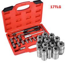 17tlg Diesel Injektor Abzieher Satz Dichtsitzfräser Einspritzdüsen Werkzeug