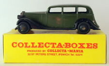 Vintage Dinky 30D - Vauxhall Saloon - In Collecta Box Green Third Listing