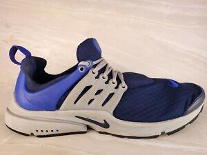 New Nike Air Presto Essential Shoes 848187-400 Binary Blue White Men's Size 10