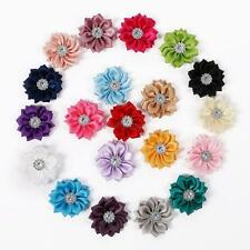 20pcs/Lot Baby Kids Girls DIY Flowers For Headband Hair Accessories Corsage Bow