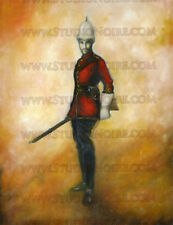 Canadian North West Mounted Police Trooper / RCMP Western Print