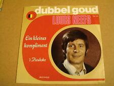 45T SINGLE TELSTAR DUBBEL GOUD / LOUIS NEEFS - EIN KLEINES KOMPLIMENT