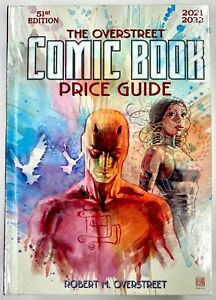 2021 OVERSTREET COMIC BOOK PRICE GUIDE VOL 51 HC DAREDEVIL ECHO FACTORY SEALED