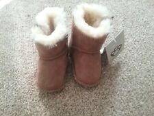 Koalibi AUSTRALIA Baby 100% Sheepskin Boots Pram Shoes 0-6 Months Bnwt Tan ...