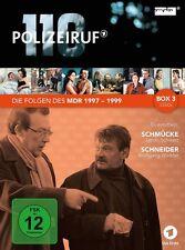 3 DVDs *  POLIZEIRUF 110 - MDR BOX 3  # NEU OVP %