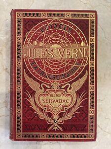 Jules Verne - Hetzel - Hector Servadac - A la sphère armillaire - 1888 -