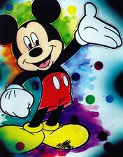 Mickey Mouse Disney cartoon movie decor wall art print.