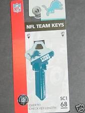 NFL Schlage Key Blank, Detroit Lions, NEW