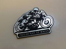 ISLE OF MAN TT RACES Fridge MAGNET Gift Manx GP Motorcycle Bike Road Race Norton