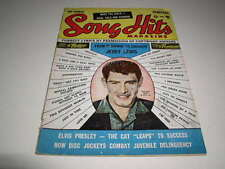 Song Hits Magazine, #4, February, 1957, Eddie Fisher Cover, Elvis Presley!