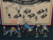 BRITAINS 8857 ROYAL ARTILLERY MOUNTAIN BATTERY METAL TOY SOLDIER FIGURE SET