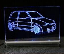 Fiat Cinquecento LED - Leuchtschild display sign
