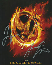 **GFA Catching Fire *HUNGER GAMES* Cast Signed 8x10 Photo MH4 PROOF COA**