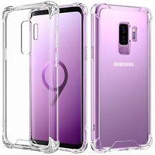 Samsung Galaxy S9 Plus Hülle Schutzhülle Transparent Case Bumper Durchsichtig