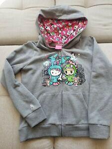 Tokidoki Hello Kitty Kaiju zip up hoodie L