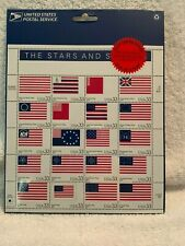 Stars and Stripes US Stamps 33C Full pane 20 stamps New In Package