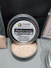 *MEDITERRANEAN* Essential Oil Flavored CULINARY Artisan Finishing Salt