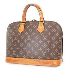 Authentic LOUIS VUITTON Alma Monogram Hand Bag Purse #37106