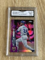 Ken Griffey Jr. 2020 Topps Chrome Update  *Pink Refractor* GMA 10 GEM MINT 💎