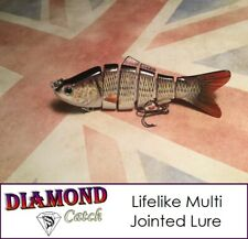 Multi Jointed Fishing Lure Lifelike Swimbait Pike Bass Trout Salmon Carp Bait
