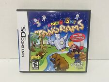 Hands on Tangrams Nintendo DS COMPLETE - Works Great - Ships Fast