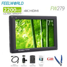Feelworld FW279 7'' Ultra Bright 2200nit On Camera Field Monitor Full HD 4K HDMI