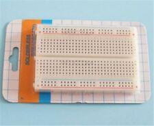 10Pcs Solderless Breadboard Bread Board 400 Contacts Available Test Develop Mini