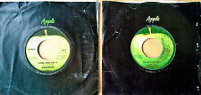 BADFINGER - COME AND GET IT, NO MATTER WHAT - LOT OF (2) APPLE 45'S