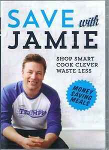 SAVE WITH JAMIE OLIVER (6 Episodes) Season One 1 NEW/SEALED (2 x DVD) FREE POST