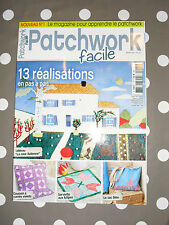 PATCHWORK Facile N°1