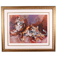 """""""Siberians"""" by Mark King Limited Edition Signed & #d Framed Serigraph 144/295"""