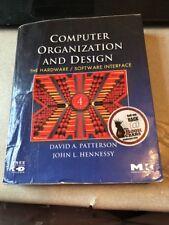 Computer Organization And Desigh Hardware/Software Interface.