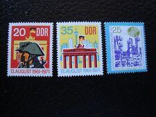 ALEMANIA (rda) - sello yvert/tellier Nº 1381 1382 1384 N MNH (COT1)