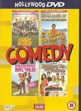4 Great Comedy Movies on 2 DVD's - Presented By Hollywood DVD -New and Sealed