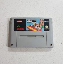 Theme park Super Nintendo SNES ⭐OZ SELLER GET IT FAST