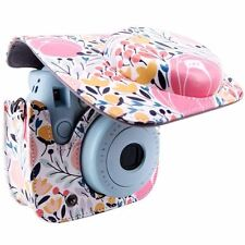 Fits Fujifilm Instax Mini 8 Camera Bag Case Protector Floral Purse Cover Strap