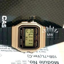 CASIO F91WM-9A DIGITAL BLACK RESIN Classic Sports Alarm Chronograph WATCH NEW