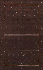 Little Animals Tribal Gabbeh Oriental Area Rug Living Room Handmade 6x10 Carpet