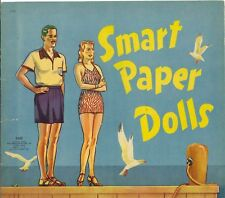 Vntge Uncut 1940 Smart Paper Doll Laser Reproduction~Lo Pr~Hi Qual No1 S Free Sh