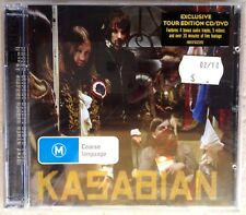KASABIAN - West Ryder Pauper Lunatic Asylum [Bonus DVD] (CD, 2010, Sony) -VGC-