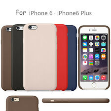 "ShockProof Leather Case Covers for Apple iPhone X 10 6 6S 7 8 Plus 5.5"" Case OEM"