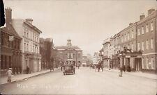 High Wycombe. High Street. Car.